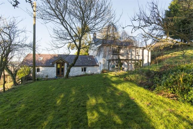 Thumbnail Detached house for sale in Crosswood, Aberystwyth, Ceredigion