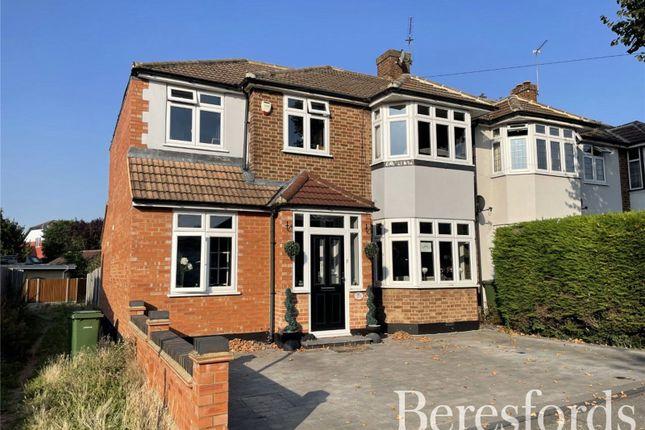 Thumbnail End terrace house for sale in Cranham Road, Hornchurch