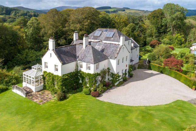 Thumbnail Detached house for sale in Carstramon House, Gatehouse Of Fleet, Castle Douglas, Kirkcudbrightshire