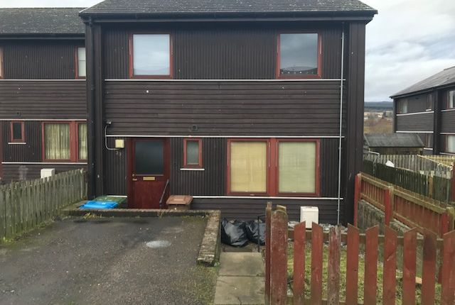 Thumbnail End terrace house for sale in Milnafua, Alness