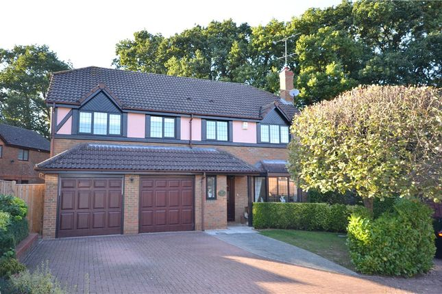 Thumbnail Detached house for sale in Matthews Chase, Temple Park, Binfield