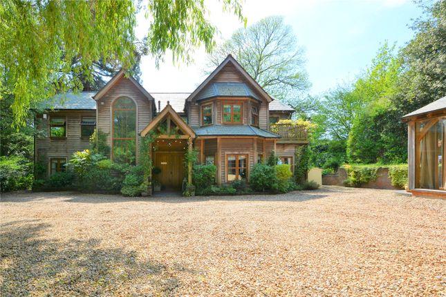 Thumbnail Detached house for sale in Bearwood Road, Wokingham, Berkshire