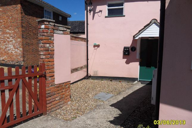 Thumbnail Flat to rent in Blyburgate, Beccles