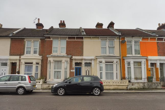 Thumbnail Terraced house to rent in Fawcett Road, Southsea, Hampshire