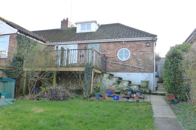 Thumbnail Semi-detached bungalow for sale in Hellesdon Road, Hellesdon, Norwich