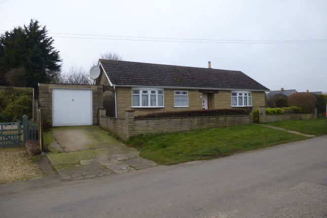 Thumbnail Detached bungalow for sale in Thistleton Lane, South Witham, Grantham