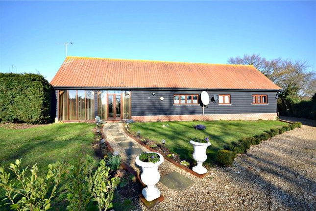 Thumbnail Barn conversion for sale in Mill Road, Newbourne, Woodbridge
