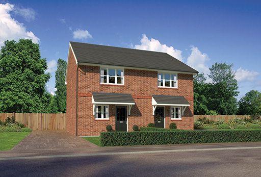 "Thumbnail Terraced house for sale in ""Aston"" At Scotchbarn Lane, Prescot L34, Prescot,"