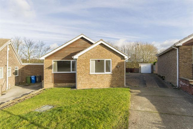 Thumbnail Detached bungalow for sale in Hollythorpe Close, Hasland, Chesterfield