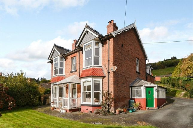 Thumbnail Detached house for sale in Llwynon Lane, Newtown, Powys