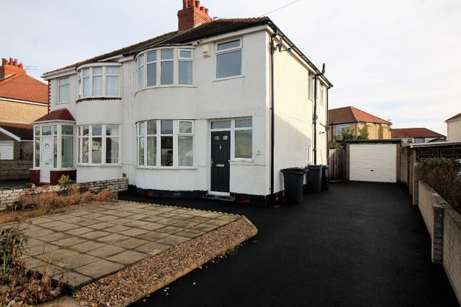 Thumbnail Semi-detached house to rent in Gloucester Avenue, Thornton-Cleveleys
