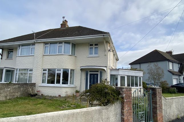 Thumbnail Semi-detached house for sale in Chestwood Avenue, Sticklepath, Barnstaple