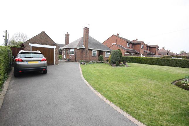 Thumbnail Bungalow for sale in Belper Road, Stanley Common, Ilkeston