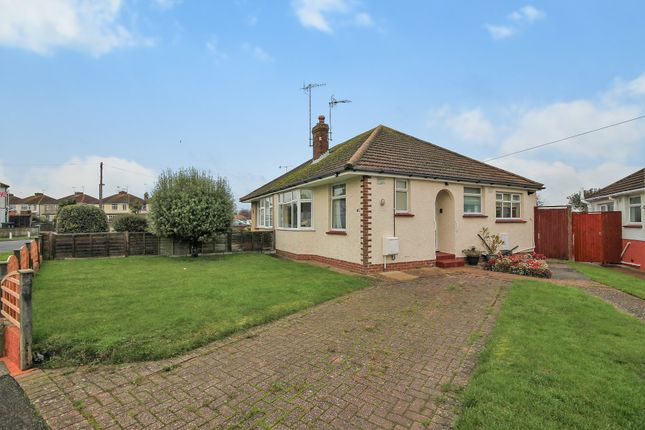 Thumbnail Semi-detached bungalow for sale in North Farm Road, Lancing