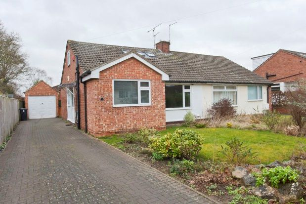 Thumbnail Semi-detached bungalow to rent in Riversdale Drive, Nether Poppleton, York