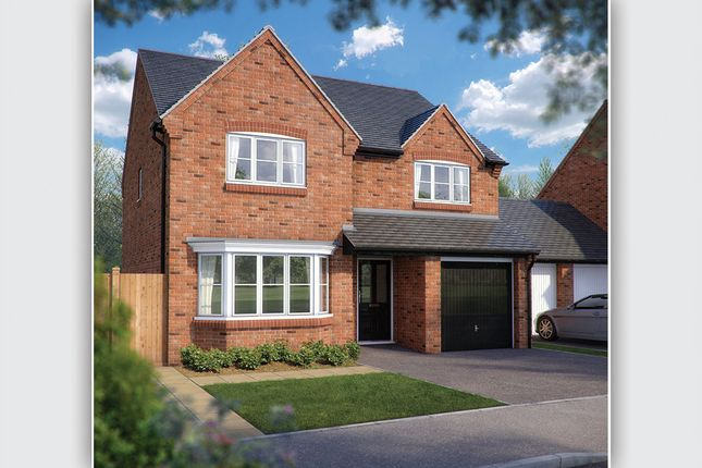 "Thumbnail Detached house for sale in ""The Durham"" at Ash Road, Cuddington, Northwich"