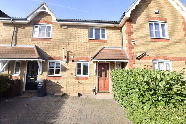 Thumbnail Terraced house to rent in Foxglove Road, Rush Green, Romford