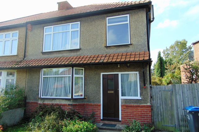 Thumbnail 3 bed semi-detached house for sale in Farnborough Avenue, South Croydon