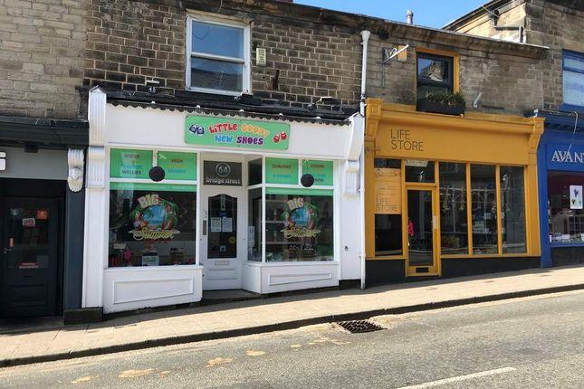 Thumbnail Retail premises for sale in Bridge Street, Ramsbottom, Bury