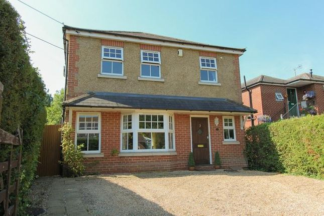 Thumbnail Detached house for sale in Spring Lane, Colden Common, Winchester