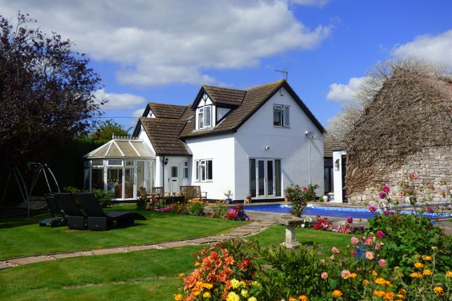 Thumbnail Detached bungalow for sale in Beachley, Chepstow