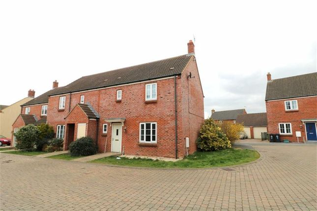 Thumbnail End terrace house for sale in O'connor Close, Staunton, Gloucester