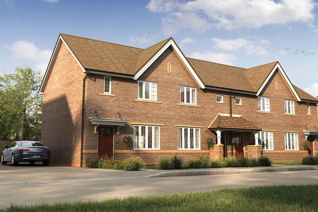 "Thumbnail Terraced house for sale in ""The Chesterton"" at Wood Lane, Binfield, Bracknell"