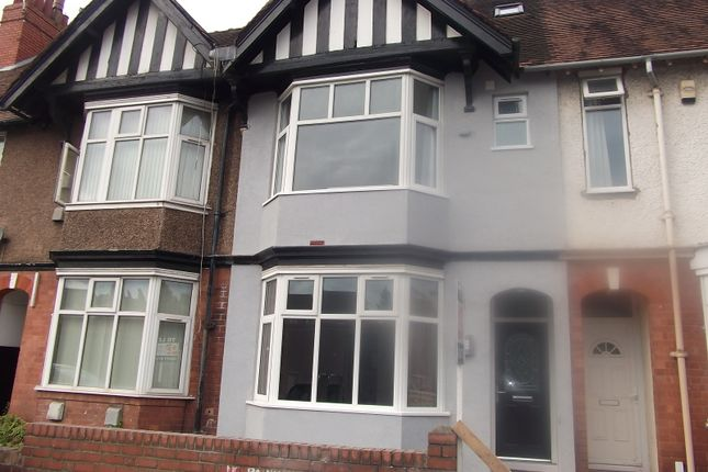 Thumbnail Terraced house to rent in St Patricks Road, Coventry