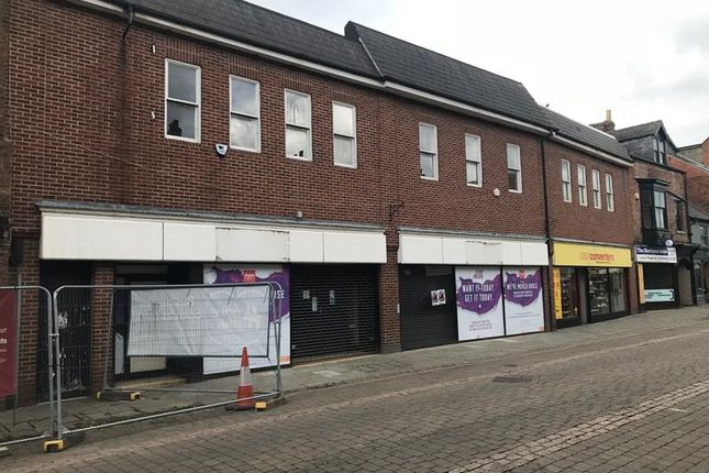 Retail premises to let in 13-16 Skinnergate, Darlington, County Durham
