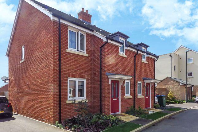Thumbnail Semi-detached house to rent in Lakeland Drive, Aylesbury, Buckinghamshire