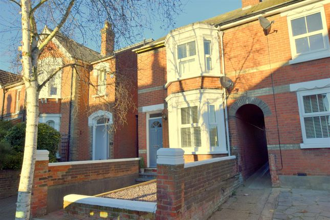 Thumbnail End terrace house to rent in Beaconsfield Avenue, Lexden, Colchester