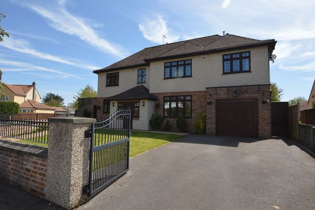 Thumbnail Detached house for sale in Uphill Road South, Uphill, Weston-Super-Mare