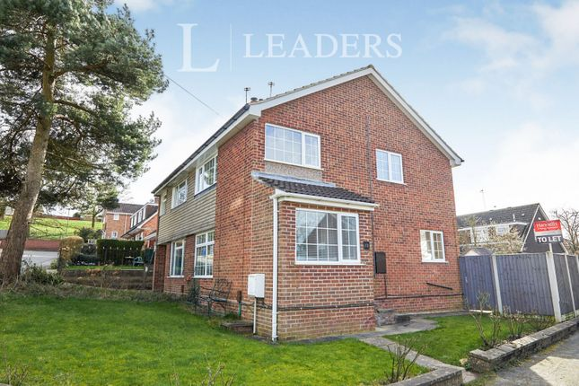 Thumbnail Semi-detached house to rent in Sandown Avenue, Mickleover, Derby