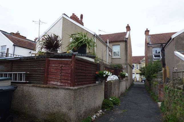 Thumbnail Maisonette for sale in Sunnyside Road, Weston-Super-Mare