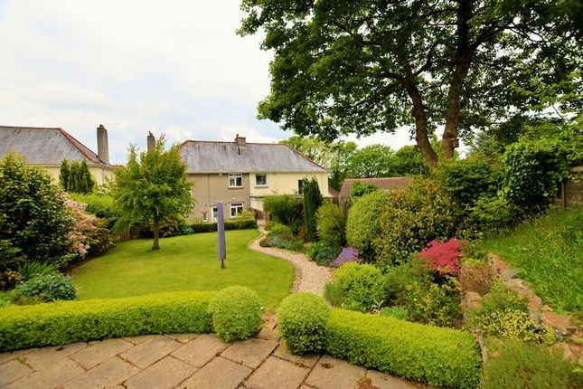 Thumbnail Semi-detached house for sale in Crelake Park, Tavistock