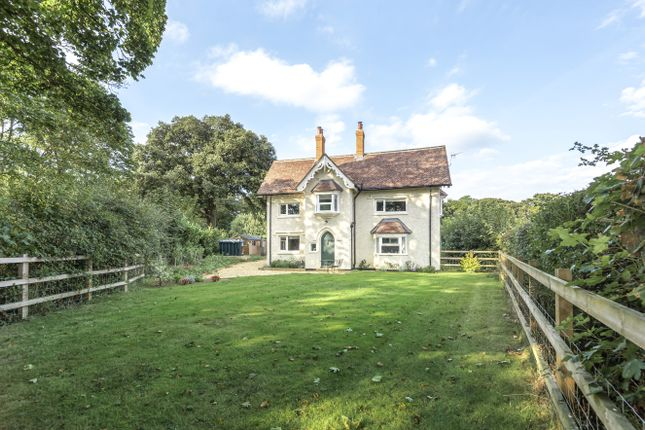 Thumbnail Detached house to rent in Lee, Romsey, Hampshire