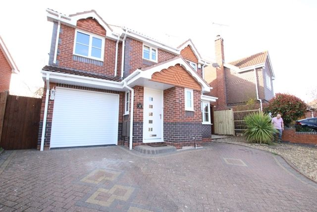 Thumbnail Detached house to rent in Hunt Avenue, Warndon Villages, Worcester