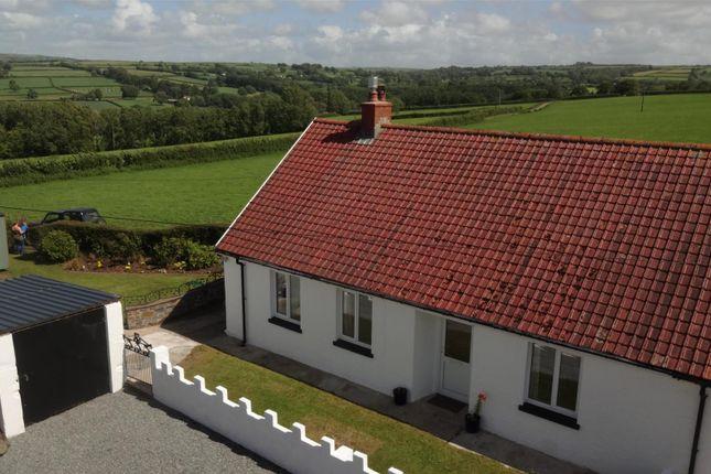 Thumbnail Semi-detached bungalow for sale in Llwyndrain, Llanfyrnach