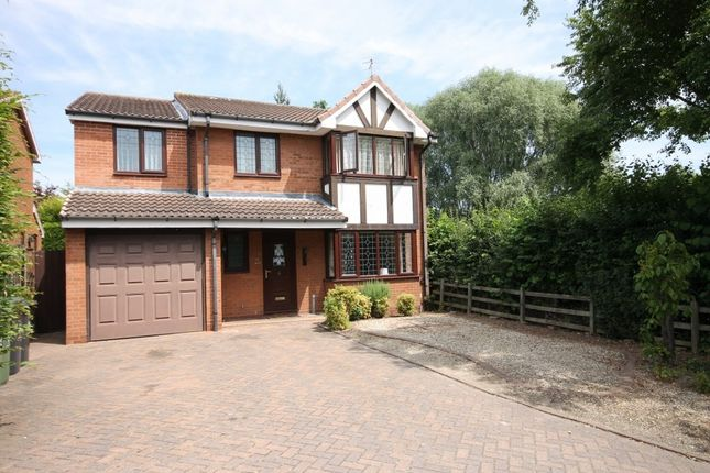 Thumbnail Detached house to rent in Broadfield Gardens, Worcester WR4.