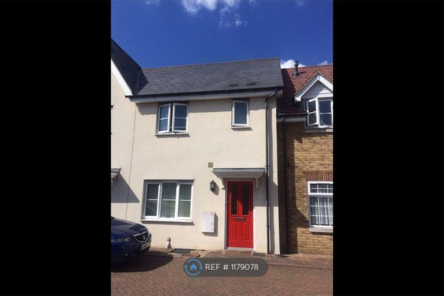 Thumbnail Terraced house to rent in Charles Church Walk, Ilford