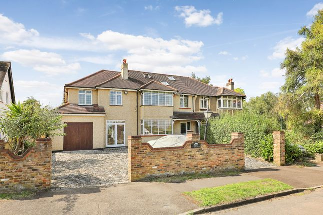 Thumbnail Semi-detached house for sale in Mount Park, Carshalton