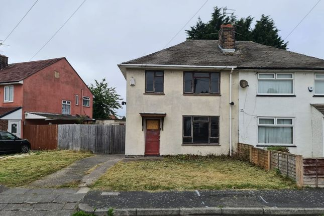 Thumbnail Semi-detached house for sale in 9 Sunfield Road, Wirral, Merseyside