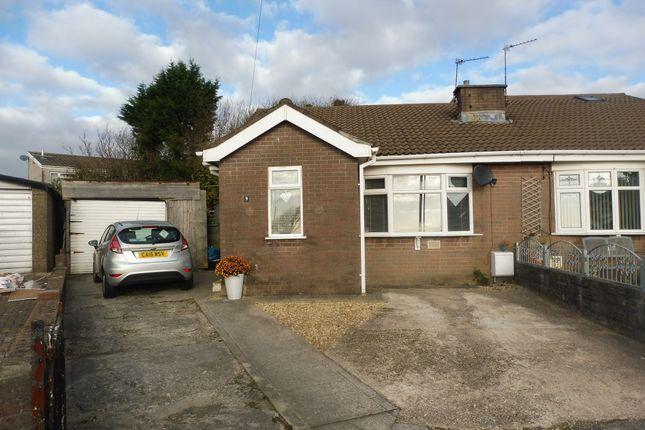 Thumbnail Semi-detached bungalow for sale in Tyn Y Bettws Close, Bettws, Bridgend