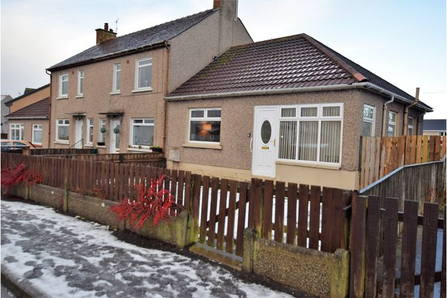 Thumbnail Terraced bungalow for sale in Fergushill Road, Kilwinning