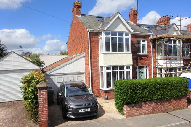 Thumbnail Semi-detached house for sale in Third Avenue, Exeter