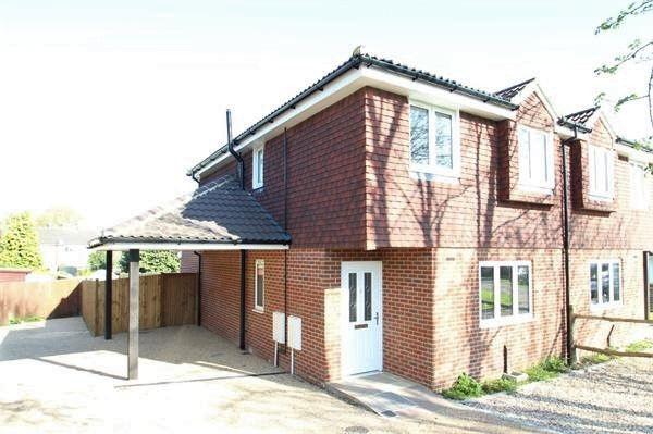 Thumbnail Semi-detached house for sale in Dorrit Crescent, Guildford