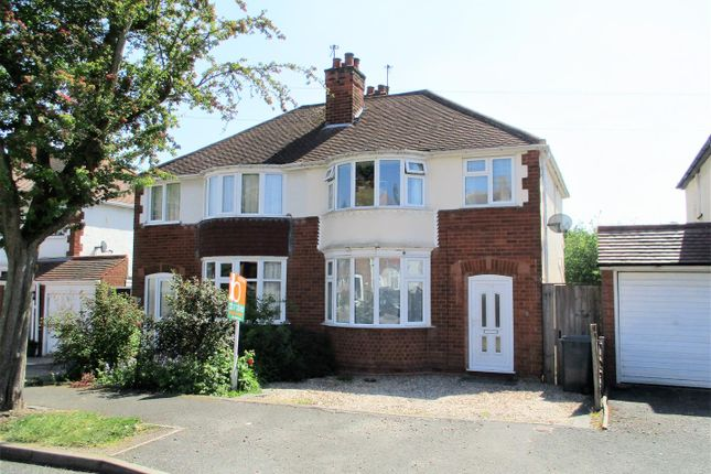 Thumbnail Semi-detached house for sale in Fairview Road, Penn, Wolverhampton