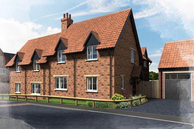 Thumbnail Cottage for sale in Plot 19, Hill Place, Brington, Huntingdon