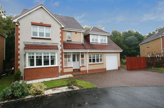 Thumbnail Detached house to rent in Fernlea, Bearsden, 1Ne