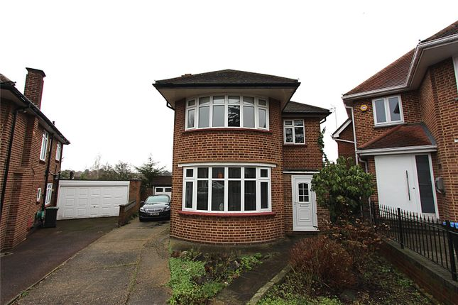 Thumbnail Detached house to rent in Hadley Close, Winchmore Hill, London